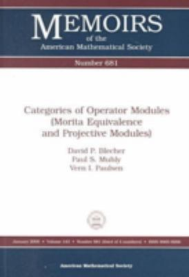 Categories of Operator Modules Morita Equivalence and Projective Modules