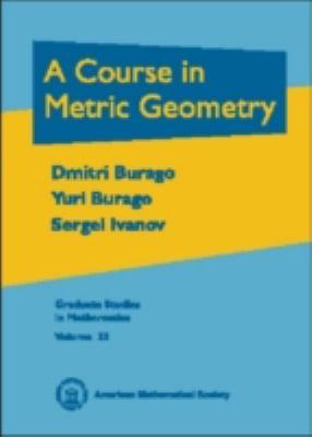 Course in Metric Geometry