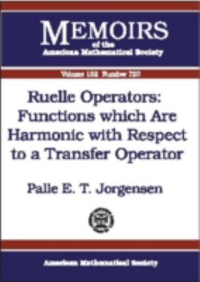 Ruelle Operators Functions Which Are Harmonic With Respect to a Transfer Operator