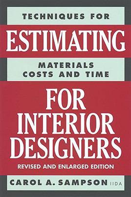 Estimating for interior designers rent 9780823016297 - Estimating for interior designers ...