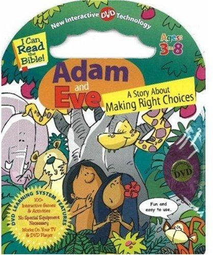 Adam and Eve: A Story about Making the Right Choices [With DVD] (I Can Read the Bible)