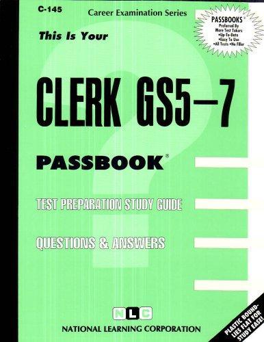 Clerk GS5-7(Passbooks) (C145)