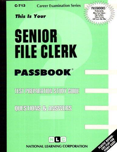 Senior File Clerk(Passbooks) (C-713)