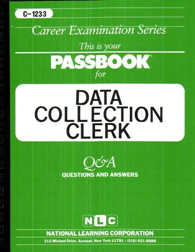 Data Collection Clerk(Passbooks) (Career Examination, C1233)
