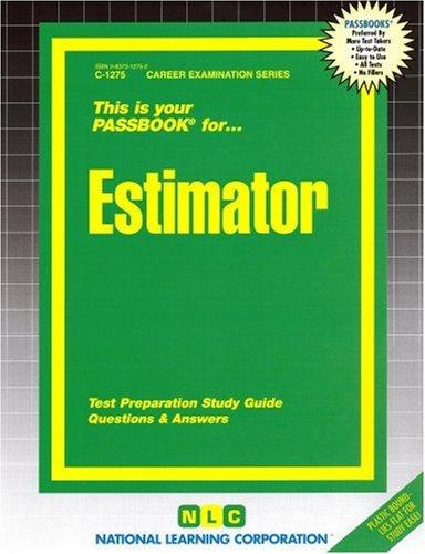 Estimator(Passbooks) (The Passbook Series)