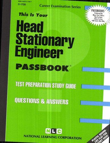 Head Stationary Engineer(Passbooks) (Career Examination Series : C-1322)