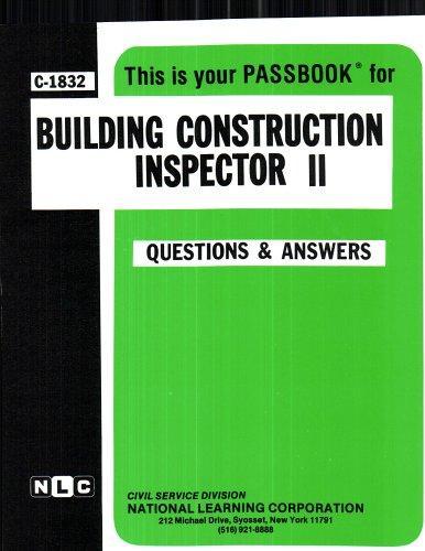 Building Construction Inspector II(Passbooks)