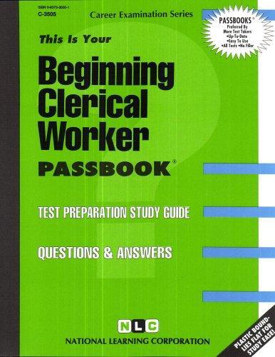 Beginning Clerical Worker(Passbooks)