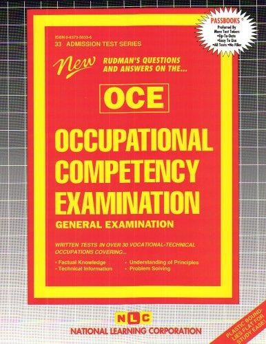 Occupational Competency Examination-General Examination (Admission Test Series)
