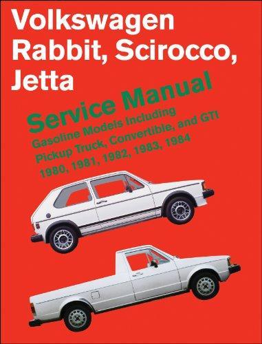 Volkswagen Rabbit/Scirocco/Jetta Service Manual, 1980-1984: Including Pickup Truck, Convertible, and GTI (Robert Bentley Complete Service Manuals)