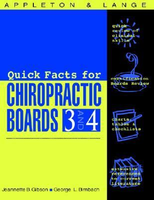 Quick Facts for Chiropractic Boards 3 and 4