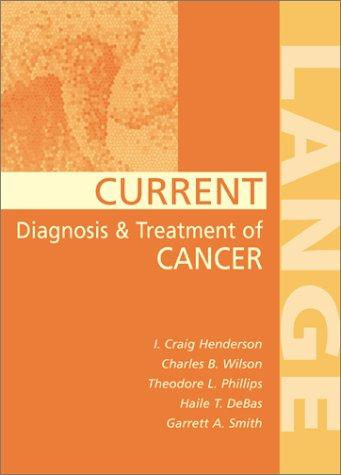 Current Cancer Diagnosis and Treatment