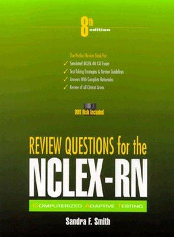 Review Questions for NCLEX-RN (Book with Diskette)