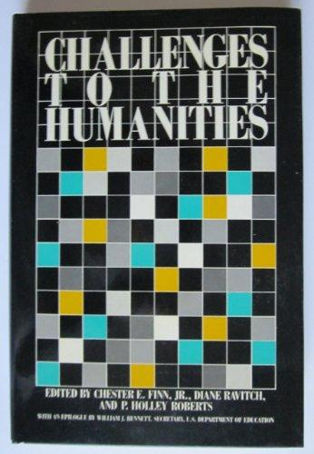 Challenges to the Humanities