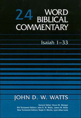 Word Biblical Commentary Isaiah 1-33