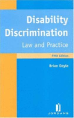 Disability Discrimination Law And Practice