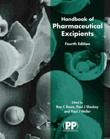 handbook of pharmaceutical excipients 7th edition