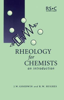 Rheology for Chemists An Introduction