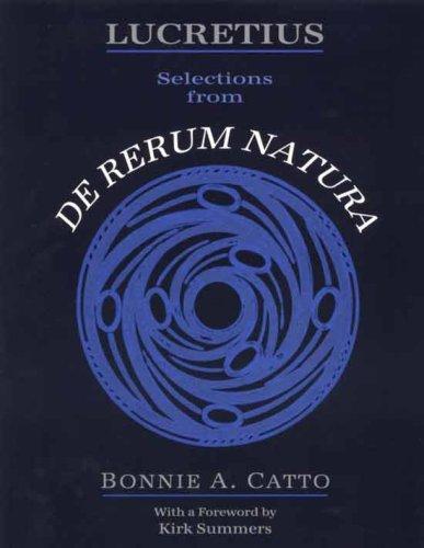 Lucretius : Selections from De Rerum Natura