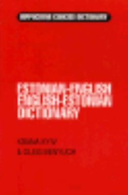 Estonian-English English-Estonian Dictionary