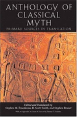 Anthology Of Classical Myth Primary Sources In Translation