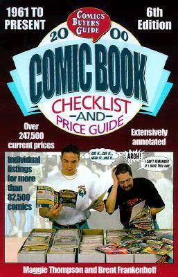 2000 Comic Book Checklist and Price Guide - Maggie Thompson - Paperback - 6TH
