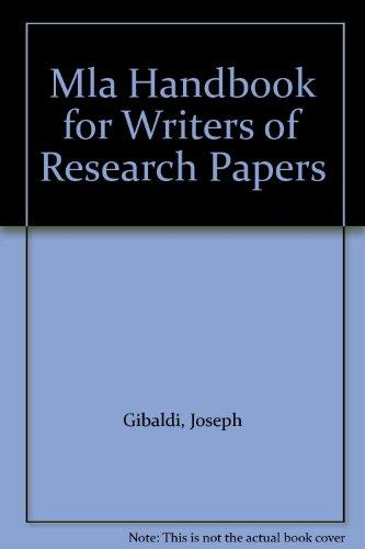 handbook for writers of research papers by joseph gibaldi Help me do essay for writers of research papers by joseph gibaldi uk dissertation help romeo and juliet essay help yahoo answers.