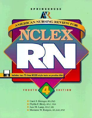American Nursing Rev.f/nclex-rn-w/3dsk