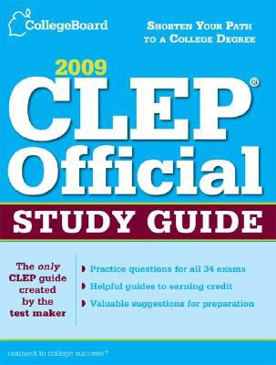 CLEP Official Study Guide 2009
