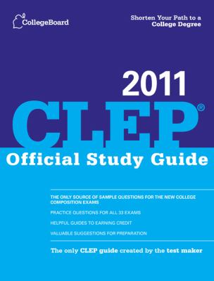 CLEP Official Study Guide 2011