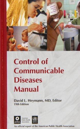 control of communicable diseases manual 19th edition pdf