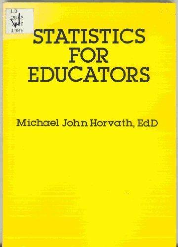 Statistics for Educators