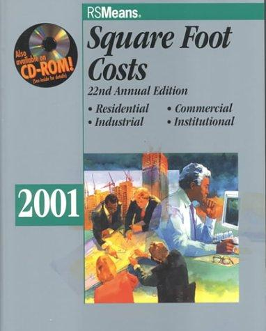 Square Foot Costs 2001 Means Square Foot Costs Rent