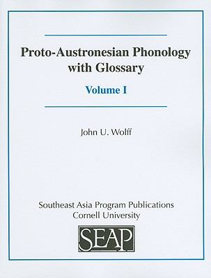 Proto-austronesian Phonology With Glossary