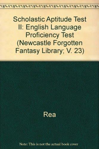 SAT II: English Language Proficiency Test w/ Cassettes (REA) - The Best Test Pre (Test Preps)