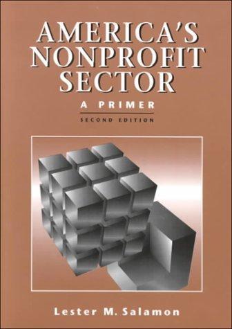 America's Nonprofit Sector : A Primer