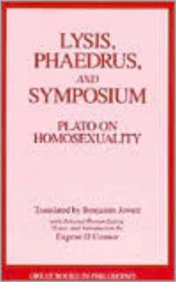the discussion of homosexuality in platos symposium An analysis of the argument of the symposium by plato plato as the source of many blessings, and in particular as the patron of homosexual love.