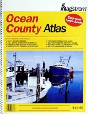 Hagstrom Ocean County Atlas Large Scale Edition