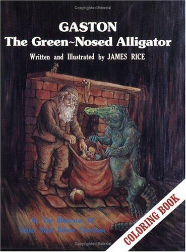 Gaston  the Green-Nosed Alligator Colori (Gaston  Series)