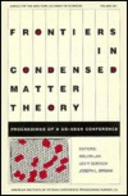 Frontiers in Condensed Matter (AIP Conference Proceedings)