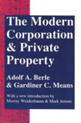 The Modern Corporation And Private Property Berle Means