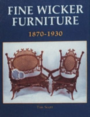 Fine Wicker Furniture 1870 1930 1870-1930