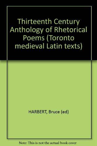 Thirteenth-Century Anthology of Rhetorical Poems