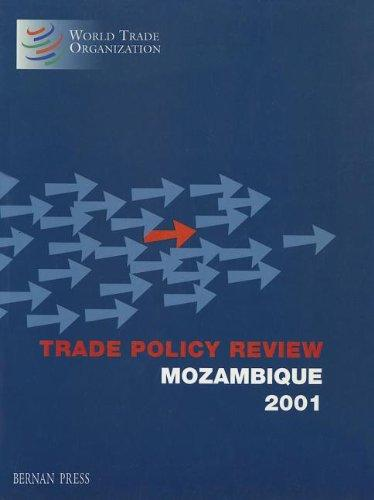 Trade Policy Review: Mozambique 2001