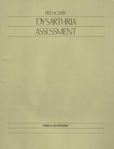 Frenchay Dysarthria Assessment