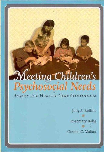 Meeting children's psychosocial needs across
