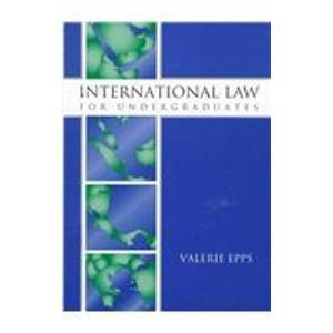 International Law for Undergraduates