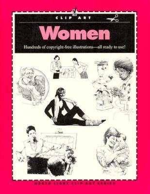 Clip Art: Women - North Light Books - Paperback