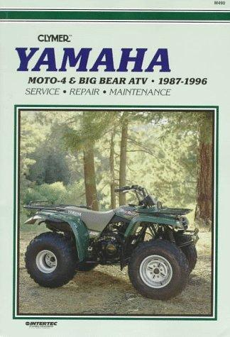 Yamaha: Moto-4 & Big Bear Atv 1987-1996
