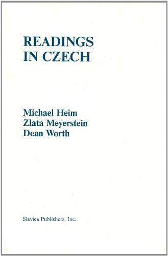 Readings in Czech (Ucla Slavic Studies)